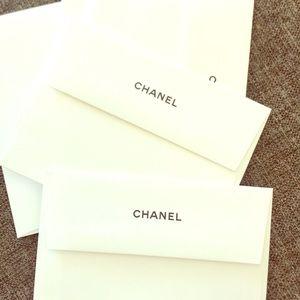 Chanel envelopes